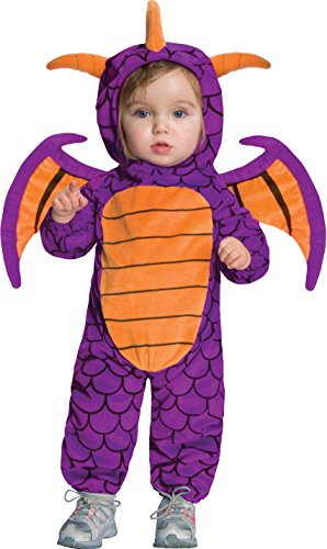 Skylanders Spyro's Adventure Ez On Spyro Romper And Headpiece, Purple, Infant Costume -