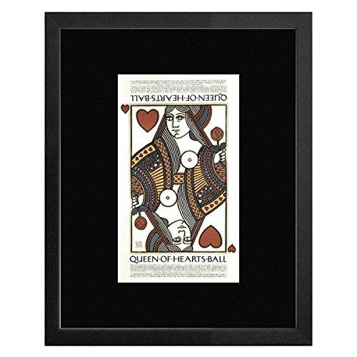 Queen Of Hearts Ball - Galleria San Francisco 1977 Framed Mini Poster - - Galleria Francisco San
