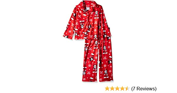 8e66d44cf Amazon.com  Disney Kids  Mickey Mouse Holiday Family Sleepwear ...
