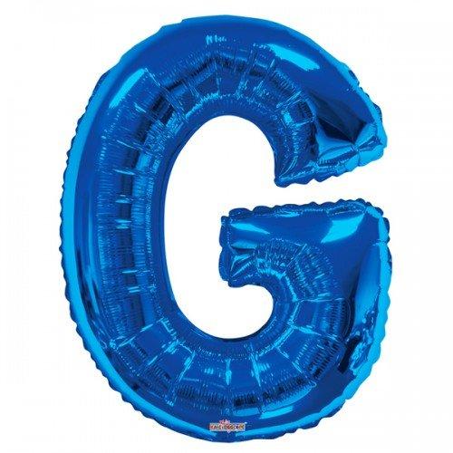 Kaleidoscope 34 Inch Foil Letter Blue Balloon (S) ()