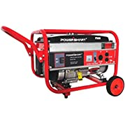 PowerSmart Power Smart PS44 3,000W Gasoline Powered Manual Start Portable Generator