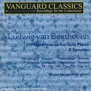 Beethoven: Masterpieces for Solo Piano/8 Sonatas