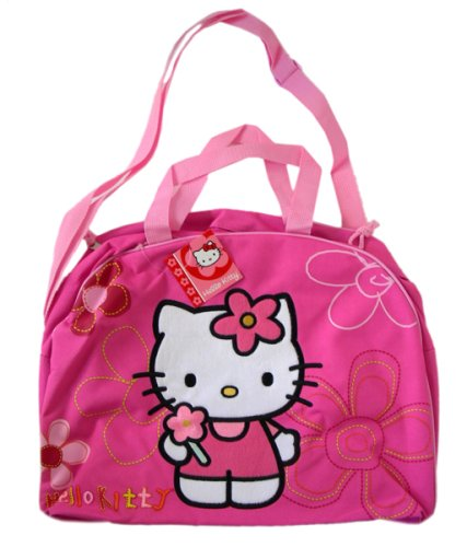6627e4c8e665 Image Unavailable. Image not available for. Color  Sanrio Hello Kitty  Duffle bag - Kitty Gym Bag