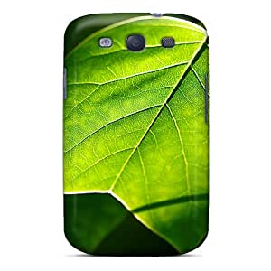 Defender Case With Nice Appearance (sunshine Through Leaf) For Galaxy S3