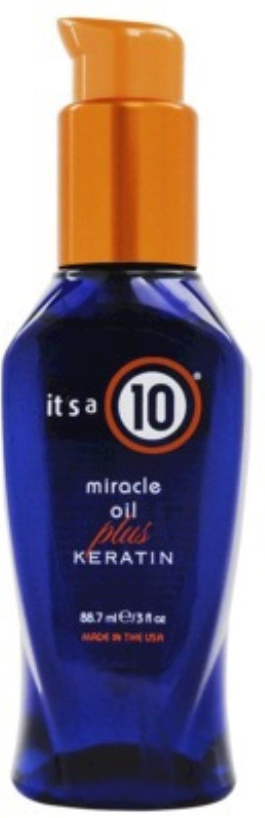 It's a 10 Haircare Miracle Oil Plus Keratin, 3 fl. oz. (Pack of 3)