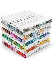 Artify Premium Art Marker zestaw 40/80 kolorów Dual Tips Twin Marker z torbą z tworzywa sztucznego