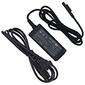 RocFly Magnetic US Plug Power Supply AC Adapter Cord for Microsoft Surface Pro 3/PRO 4 Intel Core i5 i7 Tablet...