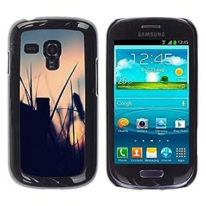 // PHONE CASE GIFT // Duro Estuche protector PC Cáscara Plástico Carcasa Funda Hard Protective Case for Samsung Galaxy S3 MINI 8190 / El campo de verano /