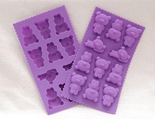 Tenga en forma de molde de silicona para hornear: El mejor chocolate, gelatina, Hard Candy, Moho Jabón y silicona Cubito de hielo en Amazon! Esta utensilios para hornear de silicona Incluye un regalo Bono: Un silicona Tea Infuser!