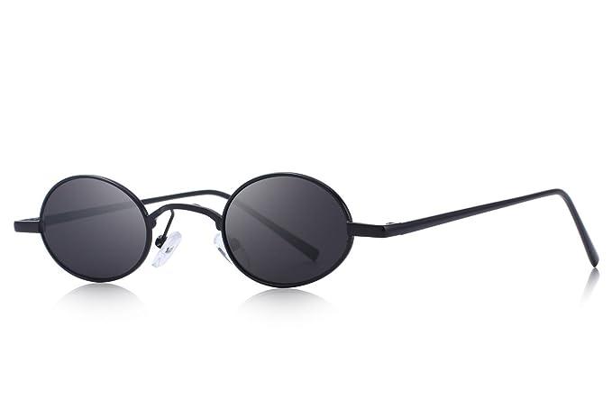 Amazon.com: OLIEYE O6501 - Gafas de sol ovaladas y delgadas ...
