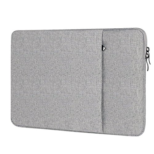 Price comparison product image Nylon Laptop Case Notebook Computer Bag Sleeve with Velvet for MacBook (15-Inch,  Nylon - Deep Grey)