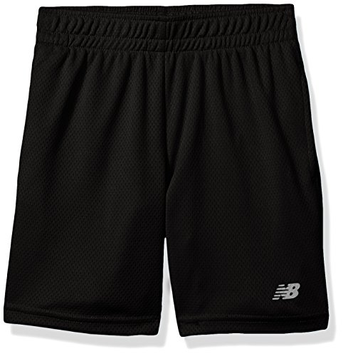 New Balance Kids Little Boys' Athletic Short, Black, (And 1 Boys Shorts)