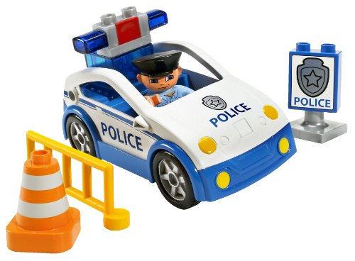 lego duplo voiture de police. Black Bedroom Furniture Sets. Home Design Ideas