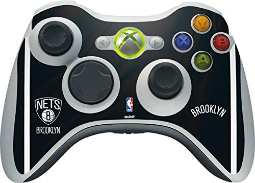 NBA - Brooklyn Nets - Brooklyn Nets Jersey - Skin for 1 Microsoft Xbox 360 Wireless Controller by Skinit