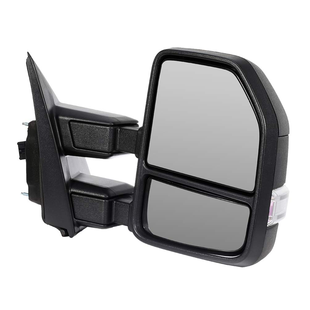AUTOMUTO Rear-Vision Mirror Left Right Side View Mirror Fit Compatible with 2017-2019 Ford F250 F350 F450 Super Duty with Power Heated Blind spot Temperature Sensor Turn Signal Light