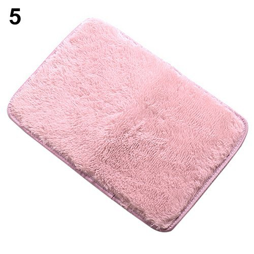 Rugs Anti-Skid Shaggy Area Rug Home Color Pink