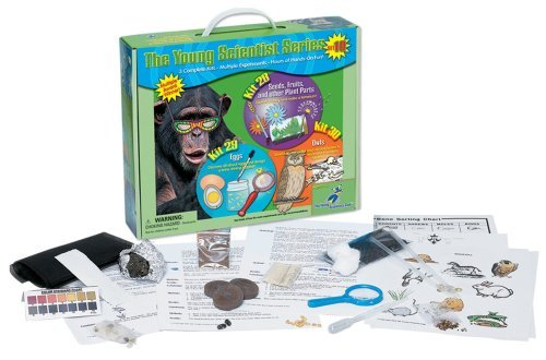 (Young Scientist Series - Set 10: Seeds, Fruits, and other Plant Parts (Kit 28) - Eggs (Kit 29) - Owls (Kit 30) by The Young Scientists Club)