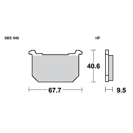 SBS 540HF Brake Pad