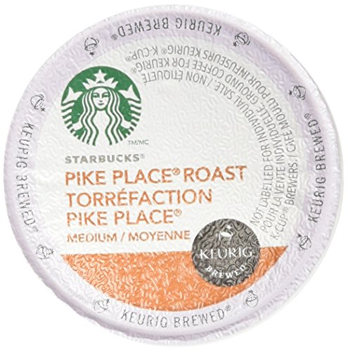 Starbucks Pike Place Roast, K-Cup for Keurig Brewers, 24 Count