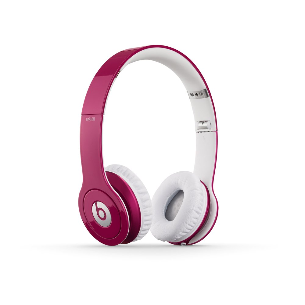 Amazon Com Beats Solo Hd Wired On Ear Headphone Pink Discontinued By Manufacturer Home Audio Theater