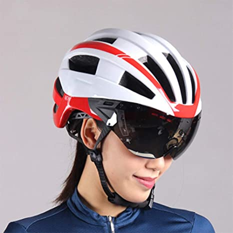 Gafas de Ciclismo para Hombre, Casco de Bicicleta de montaña ...