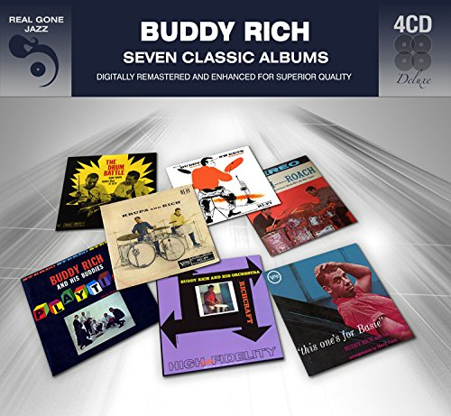 7 Classic Albums - Buddy Rich - Shop Rich The