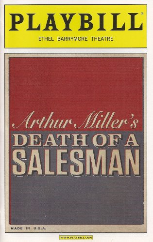 Arthur Miller's Death of a Salesman Opening Night Playbill March 15, 2012, with Philip Seymour Hoffman Linda Emond Andrew Garfield Directed Mike Nichols on Broadway Ethel Barrymore Theatre (Philip Seymour Hoffman Death Of A Salesman)