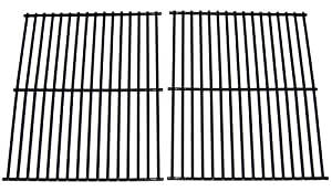 Music City Metals 51302 Porcelain Steel Wire Cooking Grid Replacement for Select Gas Grill Models by Arkla, Charmglow and Others, Set of 2