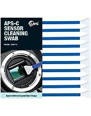 UES APC-C Camera Sensor Cleaning Swabs for DSLR and Mirrorless Cameras (10 Swabs) (1515)