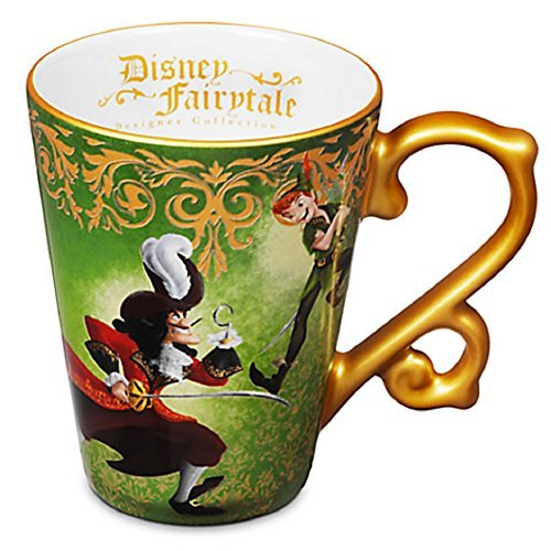 Peter Pan and Captain Hook Fairytale Mug Disney Store Designer Collection