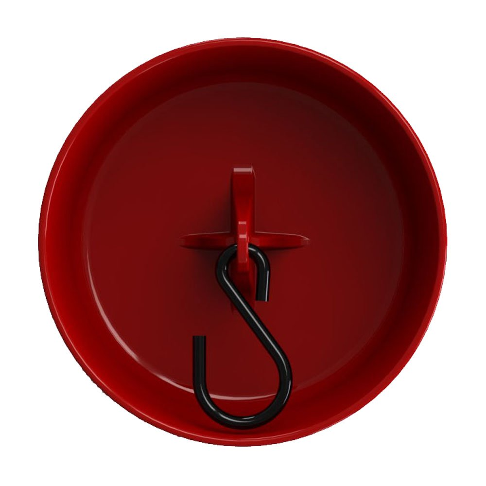 More Birds Ant Guard for Hummingbird Feeders, Red, 3.5-Inch Diameter