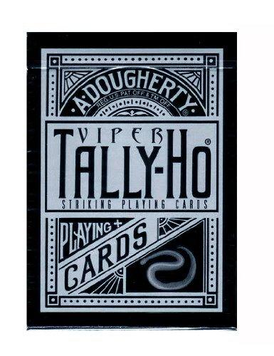 tally-ho-viper-fan-back-deck-black-silver-playing-cards-by-ellusionistcom
