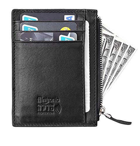 Slim Tarjetas De Flintronic Moda Bloqueo Rfid Billetera Crédito S4fUIq