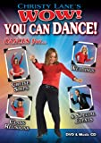 Christy Lane's WOW! You Can Dance! Dances for Cruise Ships, Weddings, Class Reunions and Special Events DVD/CD Combo