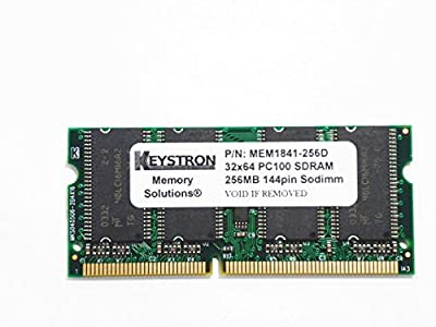 256MB Cisco 1841 1861 Router 3rd Party Memory Upgrade (p/n MEM1841-256D, MEM1841-128U384D, MEM1841-256U384D) from Keystron, LLC