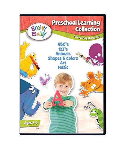Brainy Baby Preschool Learning Collection Discovering the Basics 6 DVD Deluxe -