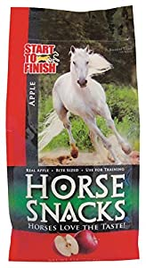 MANNA PRO-MSC 38439 Apple Start To Finish Horse Snack, 5 lb