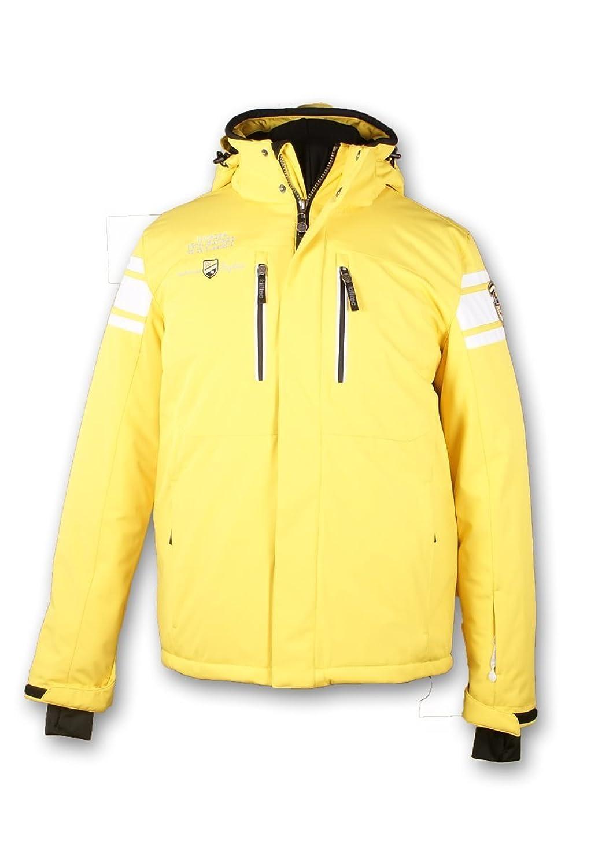killtec Soft Shell Jacke mit abzipbarer Kapuze Idaio gelb/hellgrau/weiss/schwarz