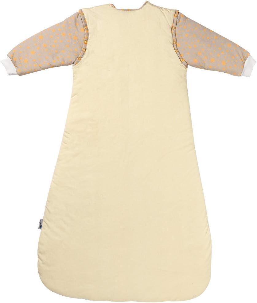 Slumbersac Sleeping Bag with Long Removable Sleeves 2.5 Tog Blue Elephant Newborn//56cm