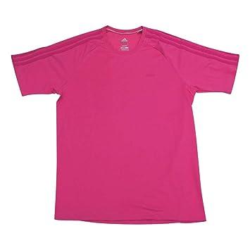 Adidas Crew ESS 3S Crew - Camiseta, Hombre, Color Rosa, tamaño S: Amazon.es: Deportes y aire libre
