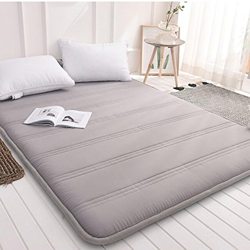 Yellow star Foldable Queen Size Mattress,Tatami Floor mat Portable Sleeping pad Dorm futon Mattress Topper Quilted Bed Protection pad-B 180x200cm(71x79inch)