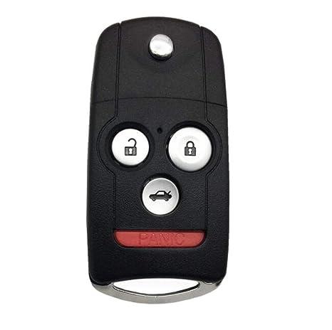 Amazon.com: Carcasa para llave de coche sin cortar, con ...