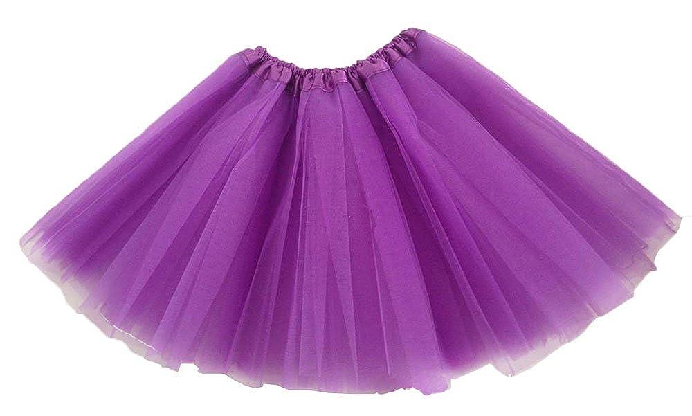 081342689d1f Amazon.com  niceEshop(TM) Girl s Ballet Dress-Up Fairy Tutu Skirt ...