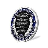 Saint Michael Law Enforcement Challenge Coin God