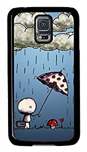 Love Story 2 Black Hard Case Cover Skin For Samsung Galaxy S5 I9600