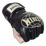 Windy MMA Fight Gloves, Black, Large
