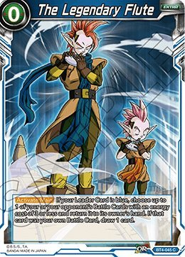 The Legendary Flute - BT4-045 - Series 4 - Colossal Warfare - Dragon Ball Super TCG