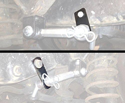 (Steinjäger 1997-2006 Wrangler TJ Sway Bar End Link Kit, Quick Disconnect Mounting Kit)