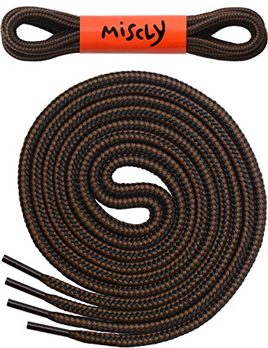 Round Boot Laces Pairs Thick