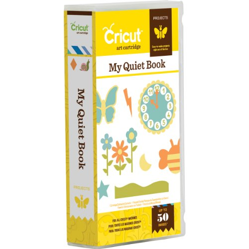 Educational Cartridge - Cricut My Quiet Book Cartridge